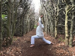 buiten yoga een bijzondere ervaring