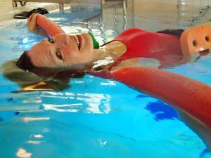 water yoga Twello ontspant