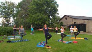 Yoga Voorst met ook buitenyoga