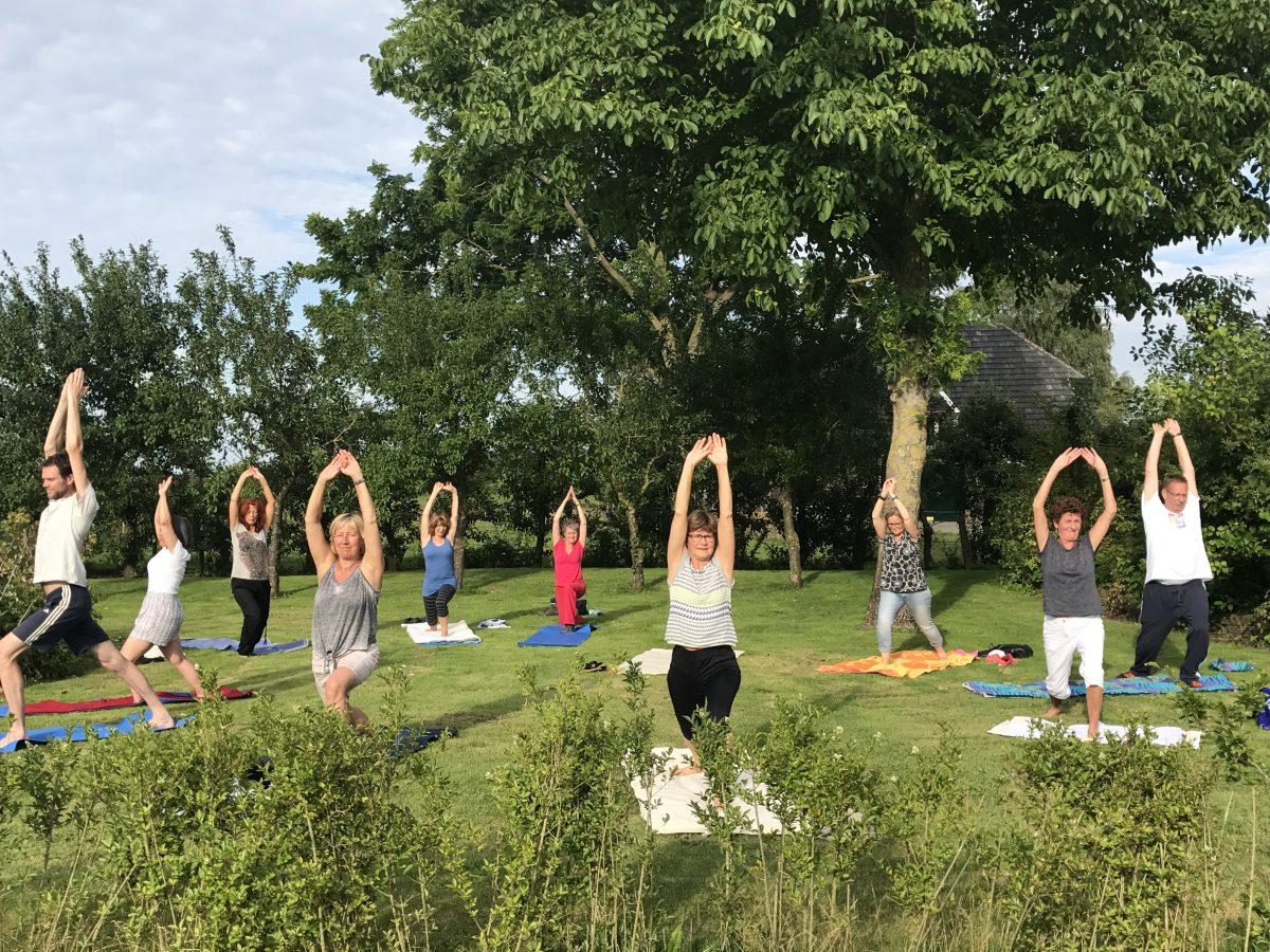 zomer yoga in Deventer en Twello