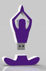 Yoga usb stick voor yoga psychologie
