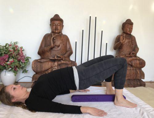 Backmitra yoga usb stick, bij rugklachten