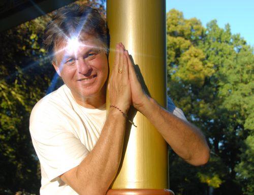 Yogahouding, is stabiel en comfortabel
