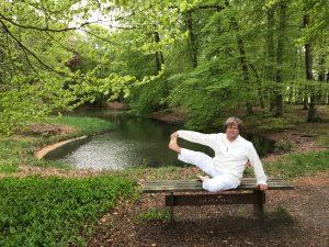 spanning ontspanning bij de yoga
