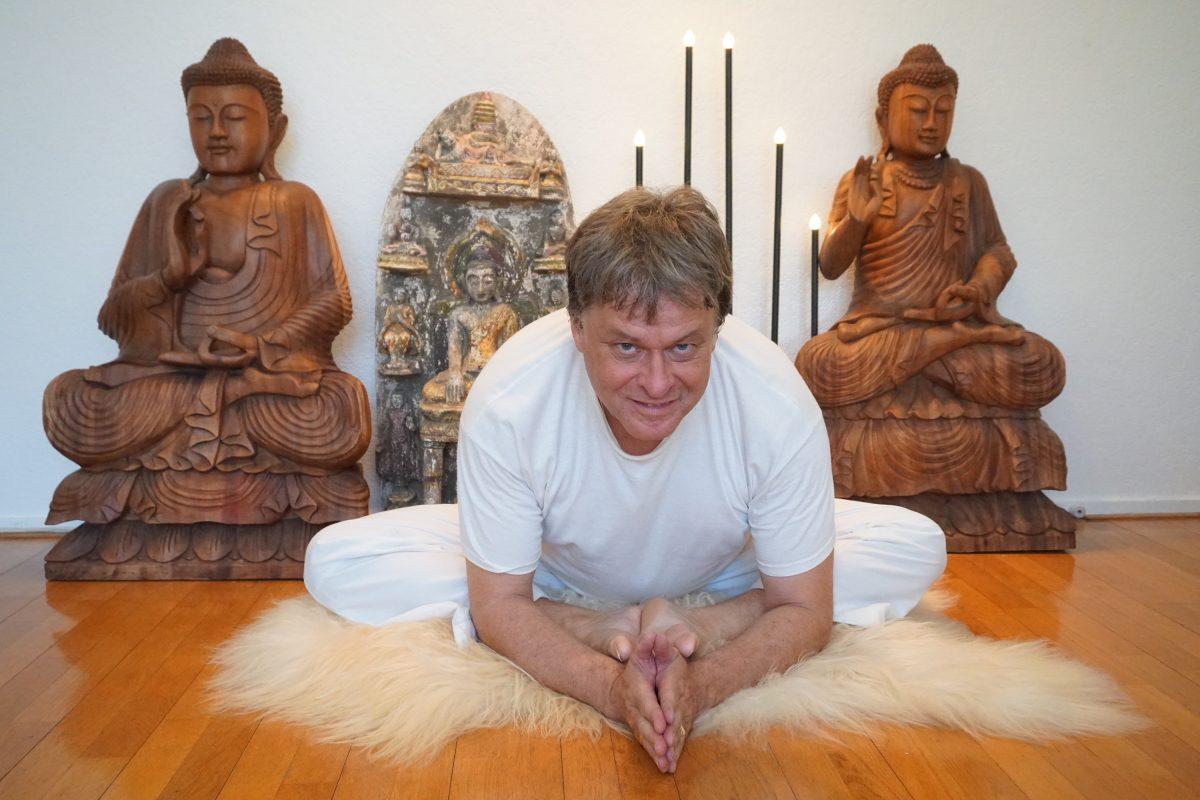 Yoga op de worp