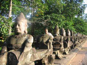 yogales in Cambodja