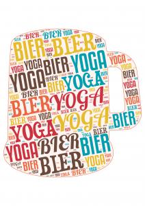 Gin yoga geiten yoga bier yoga