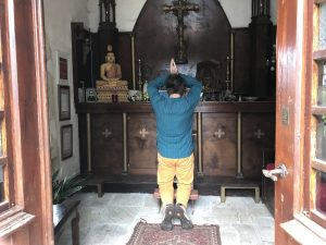 yoga in de levenstuinen met Berry Steenbruggen