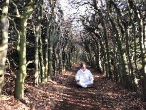 yoga ontspanning, mediteer eens