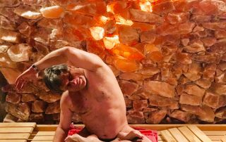 sauna yoga