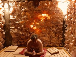 sauna yoga yogaberry