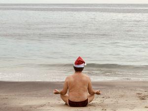 kerststress, ga naar Bali