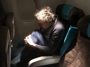 vliegtuigyoga en mindfulness