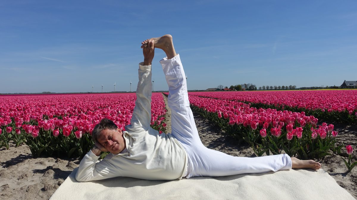 Lente yoga met voorjaarsschoonmaak