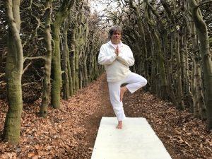 rug yoga asana