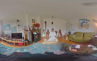 yoga 360 graden foto