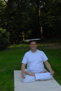 yoga lotushouding en halve lotus