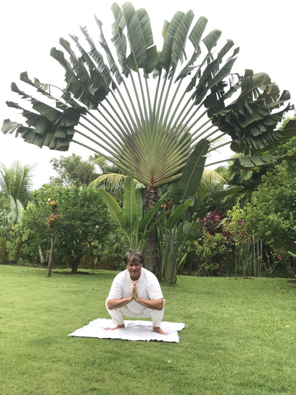 Geheim yoga ontspanning