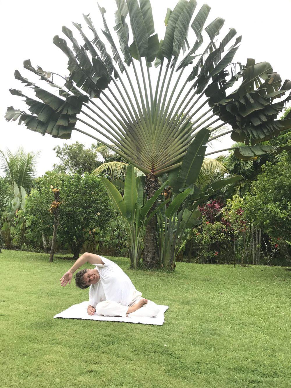 schouder nek yoga